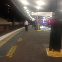Photo taken at Strathfield Station (Platforms 7 & 8) by Kanong K. on 11/9/2012