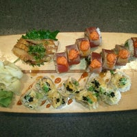 Photo taken at Tank Sushi by Randy H. on 10/28/2012