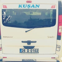 Photo taken at Şan Dolmuş Durağı by Burak K. on 10/24/2014