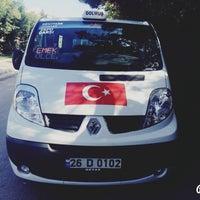 Photo taken at Şan Dolmuş Durağı by Burak K. on 10/27/2015
