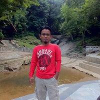 Photo taken at faizomar's waterfall by Mr. Faiz Omar H. on 6/14/2014