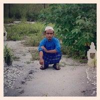 Photo taken at Masjid Sungai Batu by Mr. Faiz Omar H. on 10/26/2012