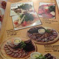 Снимок сделан в Пивной ресторан «Пятницкое, 12» пользователем Annachrom 1/7/2014