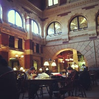 Photo taken at Fisher Fine Arts Library by Adrian R. on 2/9/2013