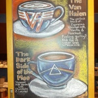 Photo taken at Rockn' Joe Coffeehouse & Bistro by Ian C. on 11/27/2012