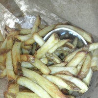 Photo taken at Five Guys by ActorMikeBiddle.com on 9/16/2012