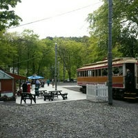 Photo taken at Laxey Station Cafe by Lewis K. on 5/24/2015
