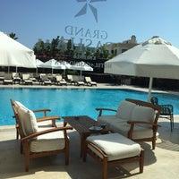 6/25/2015 tarihinde Melis K.ziyaretçi tarafından Grand Pasha Hotel & Casino'de çekilen fotoğraf