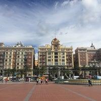 Photo taken at Plaza de la Marina by Tero A. on 5/13/2016
