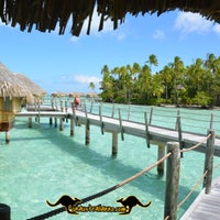 Photo taken at Le Taha'a Private Island And Resort Spa by UnAustralianno L. on 8/10/2014