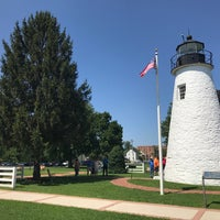 Photo taken at Concord Point and Lighthouse by Rob P. on 8/20/2017