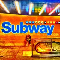 Photo taken at MTA Subway - 42nd St/Times Square/Port Authority Bus Terminal (A/C/E/N/Q/R/S/W/1/2/3/7) by Cris M. on 5/3/2013
