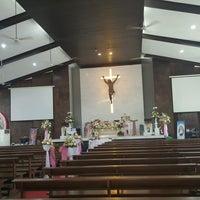 Photo taken at Gereja Santa Anna by Wida G. on 11/13/2016