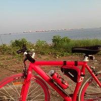 Photo taken at Pantai Marunda by Kasino K. on 8/2/2014