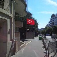 Photo taken at Ambassade de Turquie by Merve Y. T. on 6/23/2014