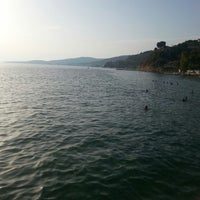 Photo taken at Fıstıklı Sahili by Sedanur G. on 7/31/2014