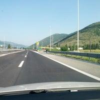 Photo taken at Area di Servizio Monte Velino Sud by stefanopala on 7/5/2013