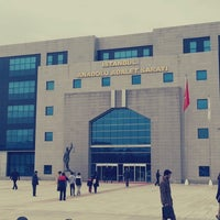 Photo taken at İstanbul Anadolu Adalet Sarayı by Ozge B. on 3/26/2013