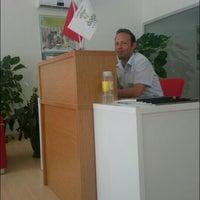 Photo taken at Doğa Koleji Tanıtım ve Kayıt Ofisi by Ismail M. on 8/9/2014