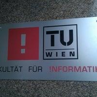 Das Foto wurde bei TU Wien Fakultät für Informatik von Maria J. am 1/30/2014 aufgenommen