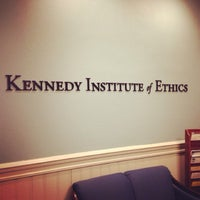 Foto tomada en Kennedy Institute of Ethics, Georgetown University  por Kelly H. el 11/17/2013