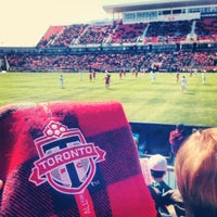 Photo taken at BMO Field by Zeeshan H. on 3/30/2013
