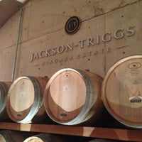 Photo taken at Jackson-Triggs Winery by Zeeshan H. on 11/19/2012