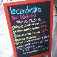 Foto tomada en La Clandestina por paloma c. el 10/5/2012