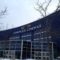 Photo taken at Cineplex Cinemas Winston Churchill by Leigh Y. on 3/13/2014
