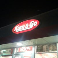 Photo taken at Kum & Go by Brian T. on 8/19/2013