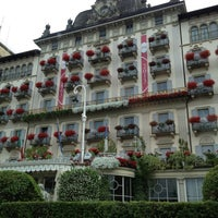Foto scattata a Grand Hotel Des Iles Borromees Stresa da Cheryl P. il 7/7/2013