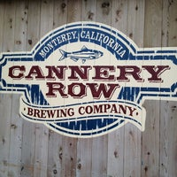 Photo taken at Cannery Row Brewing Company by Cheryl P. on 3/31/2013