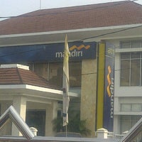 Photo taken at Bank Mandiri by Kemas B. on 11/8/2013
