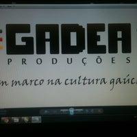 Photo taken at Gadea Produções by Leonardo G. on 11/11/2013