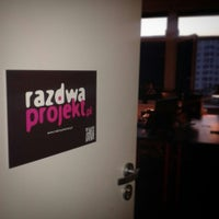 Photo taken at Raz Dwa Projekt HQ by Marta Z. on 10/10/2014