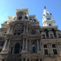 Photo taken at Philadelphia City Hall by Seth T. on 2/10/2013