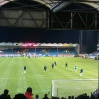 Photo taken at Jules Ottenstadion by Stijn D. on 10/27/2012