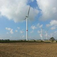 Photo taken at Windmolenpark by Jeroen W. on 10/6/2013