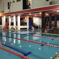 Photo taken at laguna swimming pool by Priscilla P. on 12/31/2013