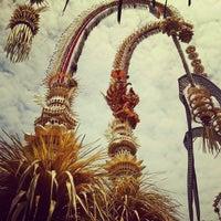Photo taken at Pura Desa Pengrebongan Kesiman by jaya s. on 10/20/2012
