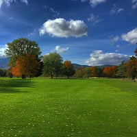 Photo taken at North Conway Country Club by Rich on 10/16/2014