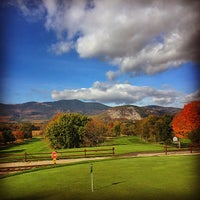 Photo taken at North Conway Country Club by Rich on 10/25/2014