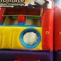 Photo taken at Bounce House Williamsburg by Dawn M. on 6/7/2015