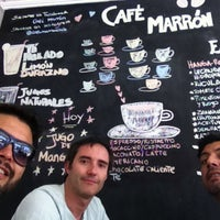 Photo taken at Café Marrón by Álvaro R. on 3/24/2014