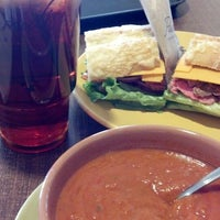Photo taken at Paradise Bakery & Cafe by Jess R. on 1/30/2014