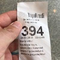 """Photo taken at Yapi Kredi Bankasi Beylikdüzü Beykent Şubesi by Kenan""""55 on 2/26/2018"""