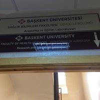 Photo taken at Başkent Üniversitesi Diş Hekimliği Fakültesi by Sercan A. on 5/24/2017