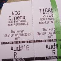Foto tomada en NCG Eastwood Cinemas por Tom R. el 6/18/2013