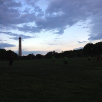 Photo taken at WAKA DC Capital Kickball Fields by Anamarie on 5/9/2013