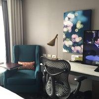 Photo taken at Hilton Garden Inn by Devin L. on 3/15/2016